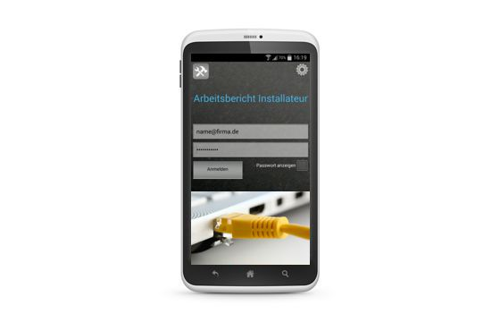 Business App für Kommunikationstechniker