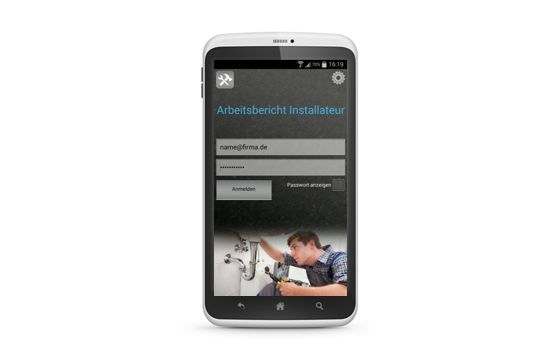 Business App für Sanitär Installateure